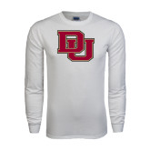 White Long Sleeve T Shirt-DU
