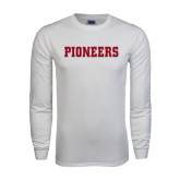 White Long Sleeve T Shirt-Pioneers