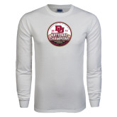 White Long Sleeve T Shirt-2015 National Champions