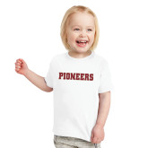 Toddler White T Shirt-Pioneers