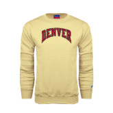 Champion Vegas Gold Fleece Crew-Arched Denver