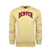 Champion Vegas Gold Fleece Crew-Arched Denver 2 Color Version