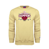 Champion Vegas Gold Fleece Crew-2014 NCHC Tournament Champions