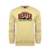 Champion Vegas Gold Fleece Crew-Lacrosse Capital of the West