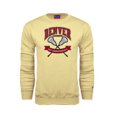Champion Vegas Gold Fleece Crew-Lacrosse 50th Anniversary