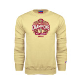 Champion Vegas Gold Fleece Crew-2015 Big East Mens Lacrosse