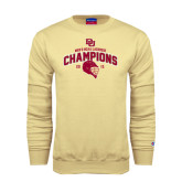 Champion Vegas Gold Fleece Crew-Mens NCAA Lacrosse Champs