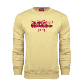 Champion Vegas Gold Fleece Crew-Mens Lacrosse Champions