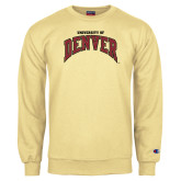 Champion Vegas Gold Fleece Crew-University of Denver