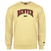 Champion Vegas Gold Fleece Crew-Denver Dad