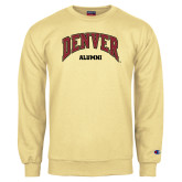 Champion Vegas Gold Fleece Crew-Denver Alumni