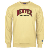 Champion Vegas Gold Fleece Crew-Denver Grandpa
