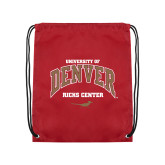 Cardinal Drawstring Backpack-Ricks Center
