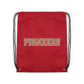 Cardinal Drawstring Backpack-Pioneers