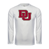 Syntrel Performance White Longsleeve Shirt-DU