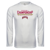 Syntrel Performance White Longsleeve Shirt-Mens Lacrosse Championship