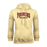 Champion Vegas Gold Fleece Hood-JR Pioneers Hockey