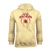 Champion Vegas Gold Fleece Hood-Basketball in Ball
