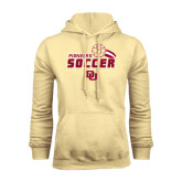 Champion Vegas Gold Fleece Hood-Soccer Swoosh