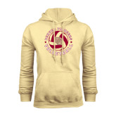 Champion Vegas Gold Fleece Hood-Volleyball Stars Design