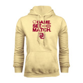 Champion Vegas Gold Fleece Hood-Tennis Game Set Match