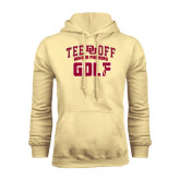 Champion Vegas Gold Fleece Hood-Golf Tee Off