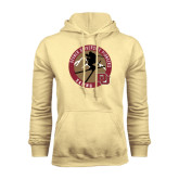 Champion Vegas Gold Fleece Hood-Skier Jumping Ski Design