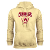 Champion Vegas Gold Fleece Hood-NCAA Division I Lacrosse Champs