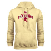 Champion Vegas Gold Fleece Hood-Mens NCAA Lacrosse Champs