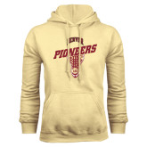 Champion Vegas Gold Fleece Hood-Pioneers Slanted Lacrosse Head