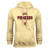 Champion Vegas Gold Fleece Hood-Pioneers Lacrosse Geometric Stick Head