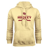 Champion Vegas Gold Fleece Hood-University of Denver Hockey Crossed Sticks