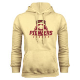 Champion Vegas Gold Fleece Hood-Pioneers Soccer Half Ball