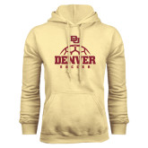Champion Vegas Gold Fleece Hood-Denver Soccer Half Ball