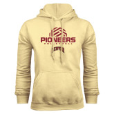 Champion Vegas Gold Fleece Hood-Pioneers Volleyball Geometric Half Ball