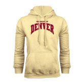 Champion Vegas Gold Fleece Hood-Arched U of Denver 2 Color Version