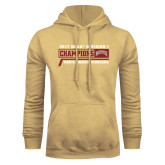 Champion Vegas Gold Fleece Hood-2017 NCAA Division I Mens Hockey Champions