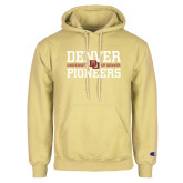 Champion Vegas Gold Fleece Hoodie-DU Pioneers