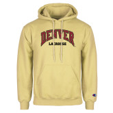 Champion Vegas Gold Fleece Hoodie-Denver Lacrosse