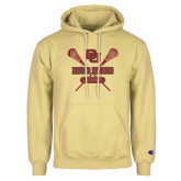 Champion Vegas Gold Fleece Hoodie-Denver Pioneers Lacrosse