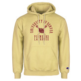 Champion Vegas Gold Fleece Hoodie-Pioneers Lacrosse
