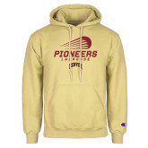 Champion Vegas Gold Fleece Hoodie-Pioneers Lacrosse Denver