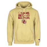 Champion Vegas Gold Fleece Hoodie-Game Set Match