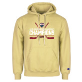 Champion Vegas Gold Fleece Hoodie-NCHC Ice Hockey Champions