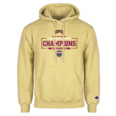 Champion Vegas Gold Fleece Hoodie-2018 Ice Hockey Champions