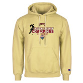 Champion Vegas Gold Fleece Hoodie-NCHC 2018 Ice Hockey Champions