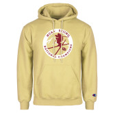 Champion Vegas Gold Fleece Hoodie-2018 NCAA Skiing National Champions