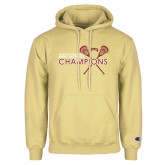 Champion Vegas Gold Fleece Hoodie-2018 Mens Lacrosse Championship