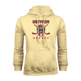 Champion Vegas Gold Fleece Hood-Denver Hockey w/Mask