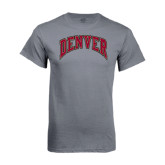 Charcoal T Shirt-Arched Denver